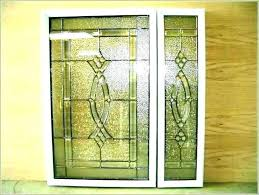 stained glass door inserts interior