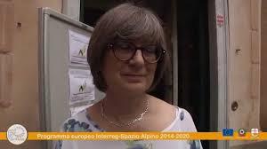 Adriana May - Presidente del comitato nazionale Spazio Alpino - YouTube