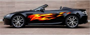 Full Color Fire Flames Auto Accent Decals F2 Xtreme Digital Graphix