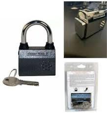 Alarm Padlock Motion Sensor Bike Home Gate Fence Security Siren Anti Theft Lock 747670300343 Ebay