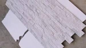 china natural z shape pure white wall