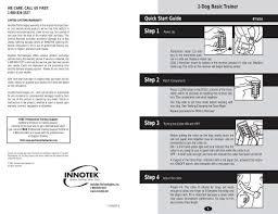 2 Dog Basic Trainer Innotek