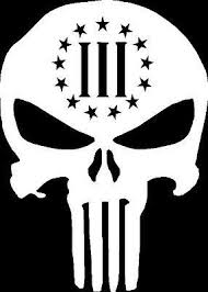 3 Percenter Skull Punisher Gun Rights La Buy Online In Dominican Republic At Desertcart