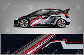 Car Decal Wrap Design Vector Graphic Abstract Stripe Racing Royalty Free Cliparts Vectors And Stock Illustration Image 121081331