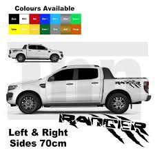 2 X Ford Ranger Raptor Truck Car Vinyl Stickers Decals Archives Statelegals Staradvertiser Com