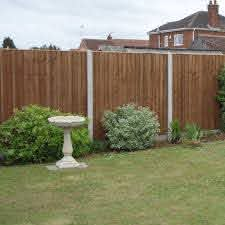 Closeboard Fence Panel Feather Edge Pressure Treated Free Delivery Available
