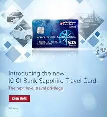 travel card login page icici bank