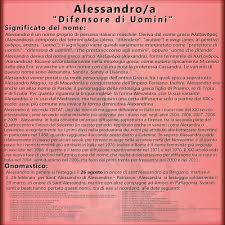 Alessandro e Alessandra: significato, origini e onomastico del ...