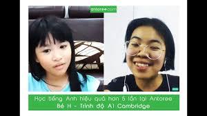 Học tiếng Anh hiệu quả hơn 5 lần tại Antoree cùng Bé H – Trình độ ...