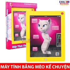 Đồ Chơi Máy Tính Bảng Mèo Kể Chuyện - Ipad Mèo Thông Minh Cảm Ứng ...