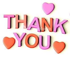 Image result for thank you heart image