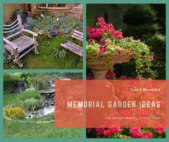 garden ideas for remembering loved ones