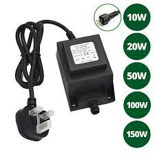 12v waterproof plug play transformer