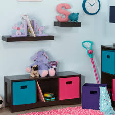 Bench Kids Storage Playroom The Home Depot