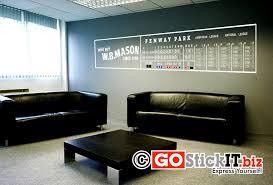 Fenway Park Stadium Scoreboard Decal Fenway Park Vinyl Wall Decals Home