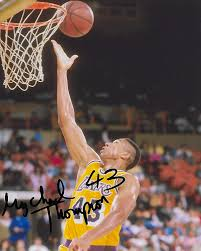 Mychal Thompson Los Angeles Lakers signed, autographed, 8x10 Photo.proof  COA at Amazon's Sports Collectibles Store