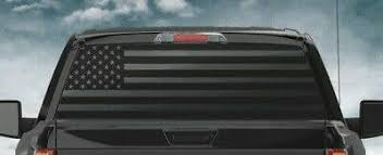 Car Truck Graphics Decals Flag Rear Window Decals For Trucks Suv S Usa America Trump 2020 American U S Motors