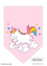 Banderin Unicornio Ideas De Fiesta Unicornio Cumpleanos