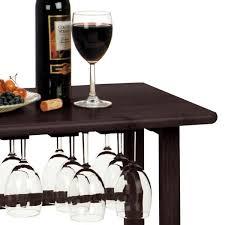 bottle espresso floor wine rack 92023
