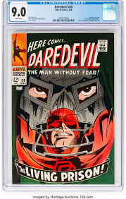 Daredevil 38 Marvel 1968 Cgc Vf Nm 9 0 White Pages Silver Lot 13364 Heritage Auctions