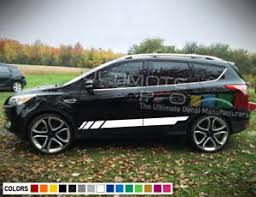 Sticker Decal Door Off Road Stripe Kit For Ford Escape 2013 2018 Molding Handle Ebay