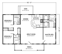 1300 to 1450 sq ft 1 story 3 bedrooms
