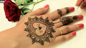 mehndi design easy and beautiful images 2018