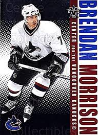 Amazon.com: (CI) Brendan Morrison Hockey Card 2002-03 Vanguard (base) 96 Brendan  Morrison: Collectibles & Fine Art
