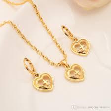 2020 europe women jewelry set 18 k fine