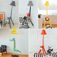 Bell 1 Light Floor Light With Animal Shape Base Fabric Floor Lamp For Kindergarten Nursing Room Beautifulhalo Com