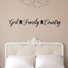 August Grove God Family Country Vinyl Words Wall Decal Wayfair