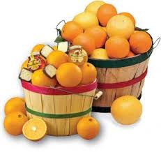 florida oranges and gfruit in a