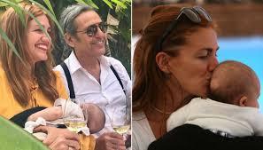 Chiara Maci e Filippo La Mantia, felici al battesimo del figlio ...