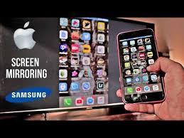 screen mirroring iphone to samsung tv