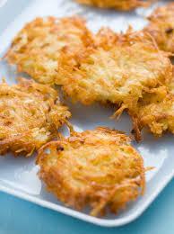quick and easy potato latkes