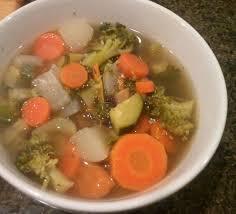 chunky fresh vegetable soup recipe