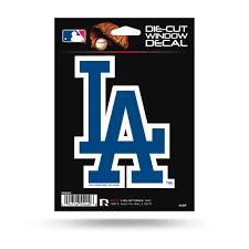 Rico Mlb Los Angeles Dodgers Die Cut Auto Decal Car Sticker Medium Vdc Sportzzone