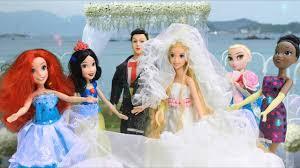 Đám cưới búp bê Rapunzel |Rapunzel Wedding day - YouTube
