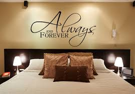 Always And Forever Wall Decals For Master Bedroom