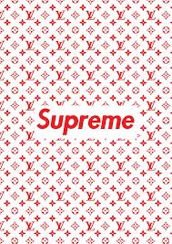 supreme x louis vuitton free wallpaper