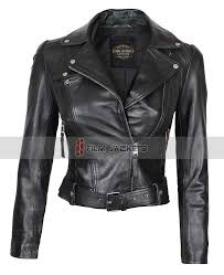 connecticut leather jacket for womens