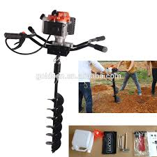 82cc 3200w Hand Held Manual Fence Post Hole Digger Portable Hand Ground Drill Earth Auger China Manufacturer