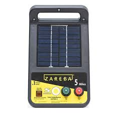 5 Mile Solar Charger 5 Mile Fence Charger Zareba Esp5m Z