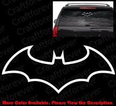 Outline Only Batman Dark Knight Car Window Bumper Die Cut Vinyl Decal Cm017 Ebay