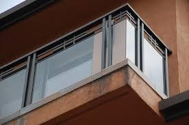 oakland hills glass railing modern