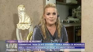 Angela da Mondello non va dalla D'Urso: Barbara, ho un problema con la  giustizia