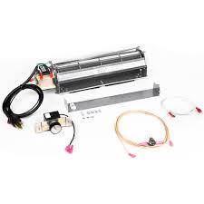blotmc fireplace blower fan kit for