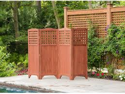 folding patio garden privacy screen