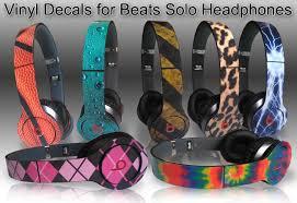 Monster Beats Solo Skins Vinyl Popular Designs