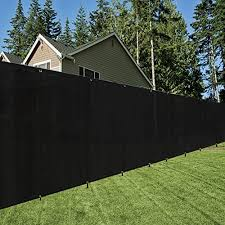 Origina 6x12ft Black Fence Privacy Screen With Zip Ties Grommets Shade Cloth Shade Fence Commercial Backyard Fence Buy Online At Best Price In Uae Amazon Ae